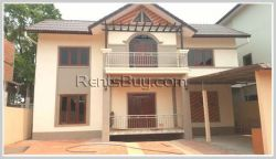 ID: 4185 - A beautiful house near National University of Laos in Ban Spangmuek for sale