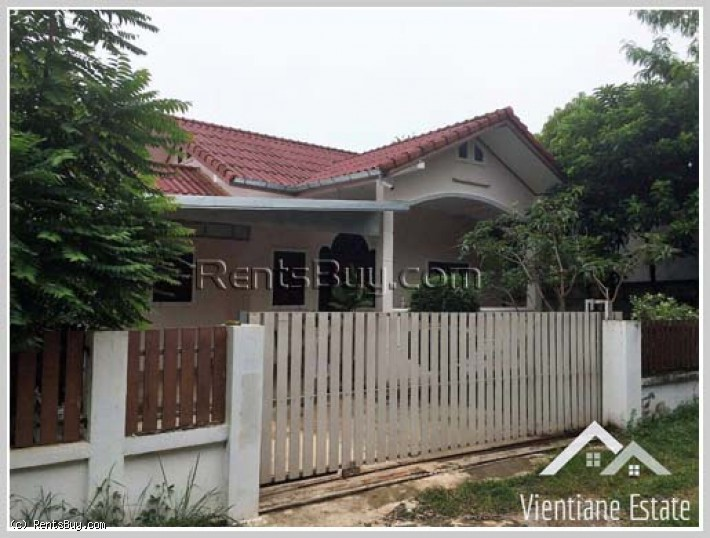 ID: 2141 - Contemporary house near 150 Tieng Hospital and near Lao National Convention Centre for sa