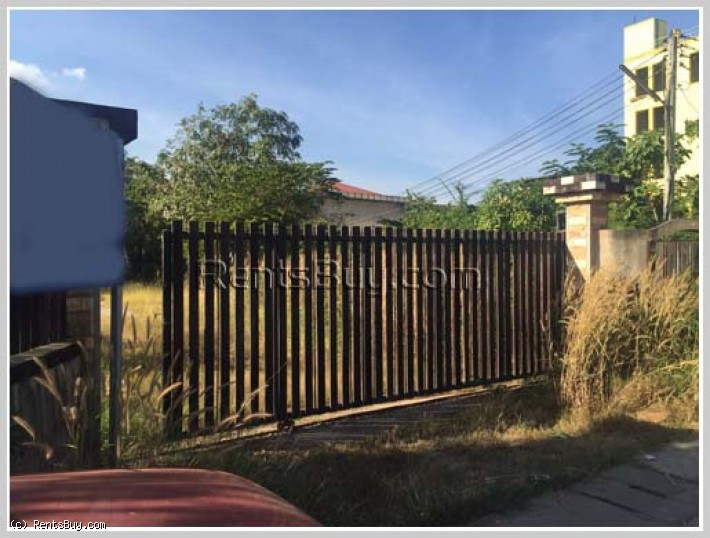 ID: 878 - Nice house and land for sale by pave road near Changchieng Shopping Mall.