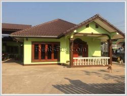 ID: 3056 - Nice villa house with large yard for sale in Sikhottabong district