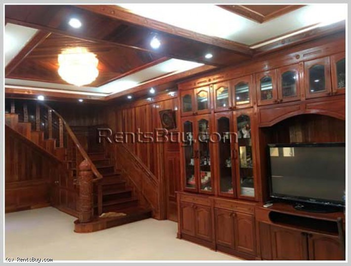 ID: 4255 - The house close to Xangjieng Market in Ban Nakham for sale