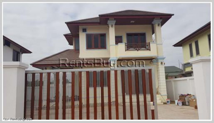 ID: 4258 - Adorable house by good access for sale in Ban Phonpapao