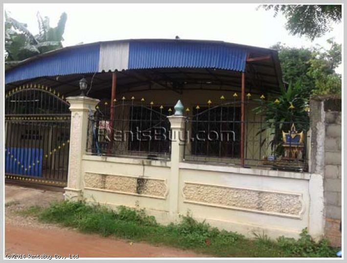 ID: 1609 - Small villa house in town near Settha hospital
