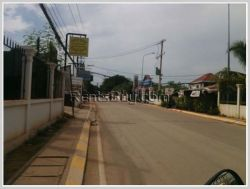 ID: 3188 - Townhouse next to concrete road near Lao ITEC for rent