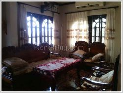 ID: 3227 - The pretty house with fully furnished and near National University of Laos for rent