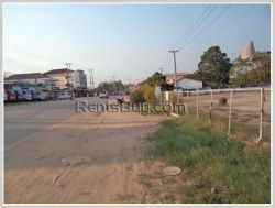 ID: 3028 - Vacant land near main road and Nongnio market for rent in Sikhottabong district