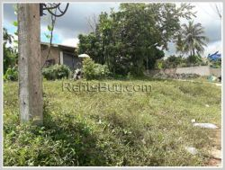 ID: 3328 - Vacant land next to concrete road for rent near National University of Laos