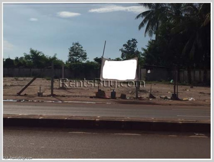 ID: 3754 - Nice vacant land near main street of Kaison for rent