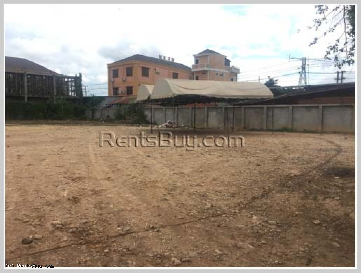 ID: 3636 - Nice vacant land near main road in business area for rent