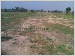 ID: 3175 - Vacant levelled land near main road for sale in Ban Nongping