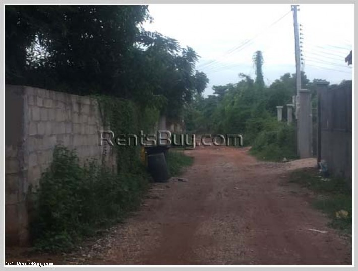 ID: 3662 - Vacant land near Houayhong market Chanthaboury District for sale