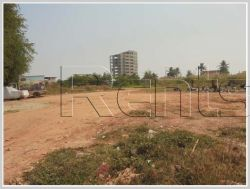 ID: 3055 - Vacant land near main road for sale in Chanthabouly district