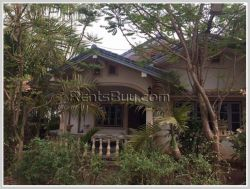 ID: 3936 - The land with house near Houayhong market Chanthaboury District for sale