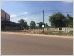 ID: 2145 - Nice vacant land by pave road for sale, Hadsayfong District.