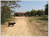 Vacant land by mekong river with a house for sale
