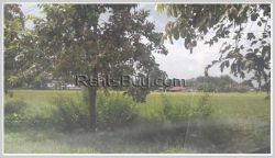 ID: 3835 - Vacant land near main road and Beer Lao Factory for sale in Hatxaifong District