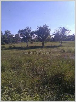 ID: 3955 - Vacant land near main road for sale in Ban Thadeua