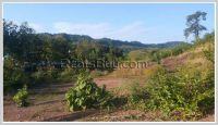 ID: 2304 - Vacant lane in Luangprabang province for sale