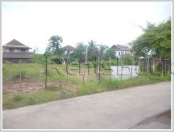 ID: 3306 - Large size land near to concrete road for sale
