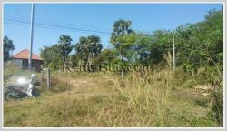 ID: 2479 - Land for sale next to canal of Ban Nonkhor.