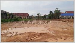 ID: 3647 - Vacant land next to Daovieng Convention Hall, Phonpanao, for sale