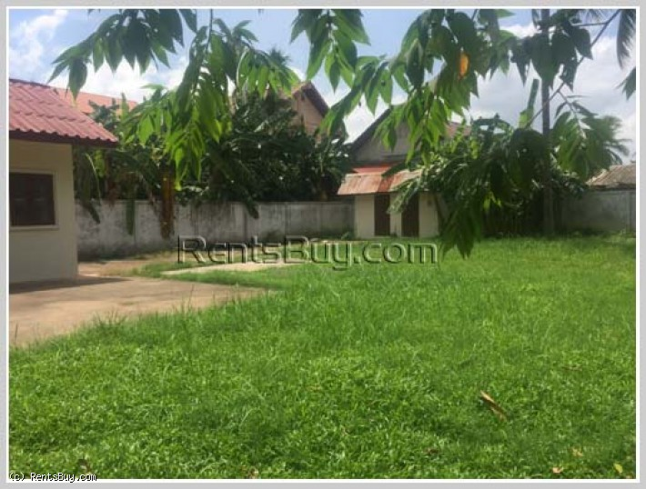 ID: 3478 - Residential land by pave road for sale about 65m off the main road in Viengjalern for sal