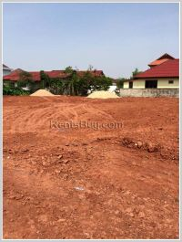 ID: 2721 - Vacant land for sale in town at Nonsavang Village