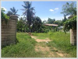 ID: 4341 - Vacant land with wall in Ban Khamsavat for sale