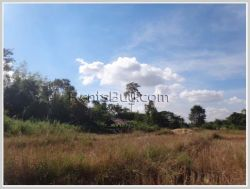 ID: 3148 - Pristine land 2,5 km from the main road for sale in Saythany District. $4/sqm