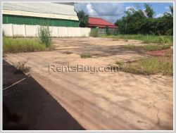 ID: 3316 - Vacant land near Kaison road for rent in Saythany district.
