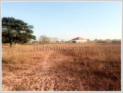 ID: 3442 - Nice vacant land for sale near National University of Lao.