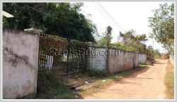 ID: 3508 - Nice vacant land for sale behind national university of Laos