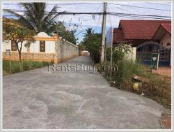 ID: 1910 - Big size of land near the new city of Vientiane for sale