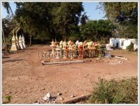 ID: 446 - Surfaced land for sale in main road near University of Laos