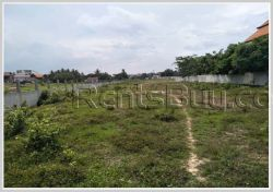 ID: 4367 - Vacant land next to concrete road in Ban Donnokhoum for sale