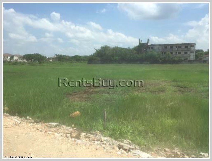 ID: 3649 - Vacant land for sale in Lao rich community and near Nongduang Market