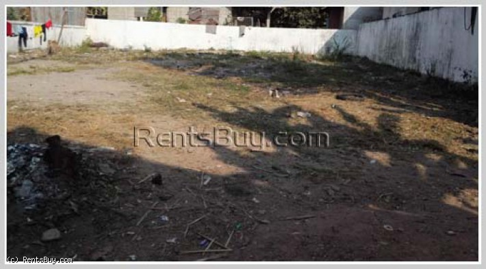ID: 4340 - Vacant land for sale in developed area of Sikhottabong