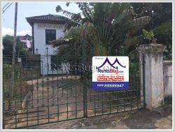 ID: 4376 - Prime area next to concrete road in Ban Sithan for sale