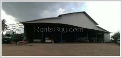ID: 4013 - The nice land with warehouse for sale in developed area of Sikhottabong