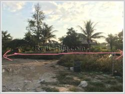 ID: 3775 - Nice vacant land by pave road for sale at Tadthong Village
