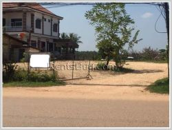 ID: 1330 - Construction land near main road for sale