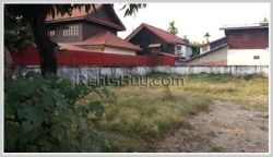 ID: 3076 - Vacant land near Mekong river for sale in Sisattanak district