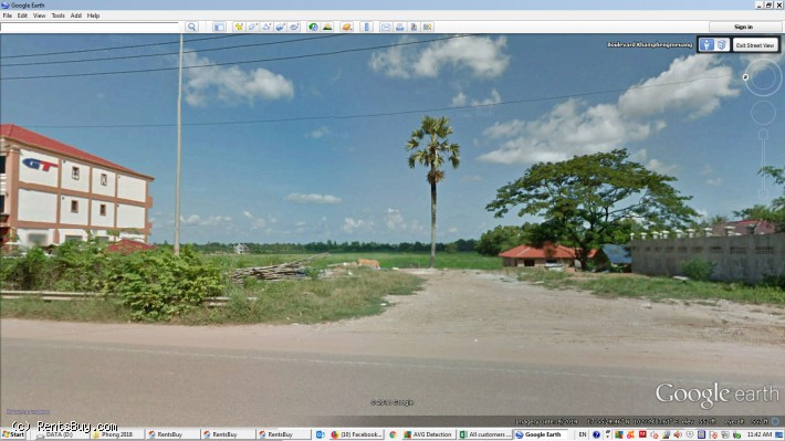 ID: 4256 - Land for Construction near Inpeng Hotel in Ban Donkoy for sale