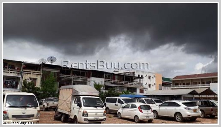 ID: 3734 - Muddy Diamond Land, next to Kuadin Market behind Vientiane Center and door's step of Morn