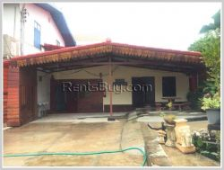 ID: 1695 - Nice villa next to concrete road and not far from Thatluang Temple for rent