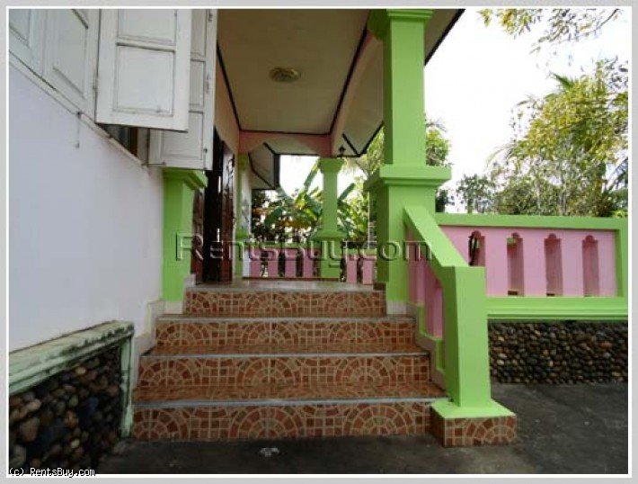 ID: 3137 - Villa house with large yard by rice paddy field for sale in Thadeua road.