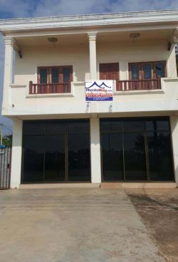 ID: 4546- Shop house by Concrete road near Itecc mall for rent