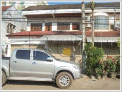 ID: 954 - Shop house by the pave road comes for rent in Chanthabouly district