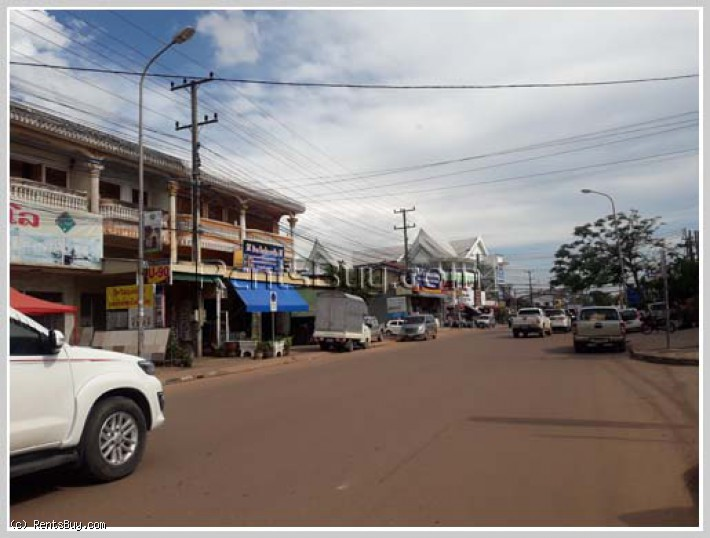 ID: 4115 - Shop house near main road close to Lao America College for rent