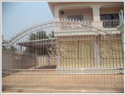 ID: 874 - New shop house near main road for rent in Saysettha district